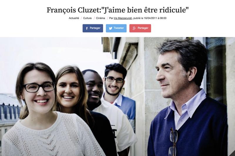 Interview François Cluzet for L'Express