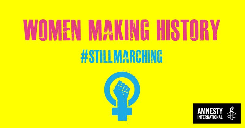 Event: Women Making History: #StillMarching - 20th May, Tickets here!
