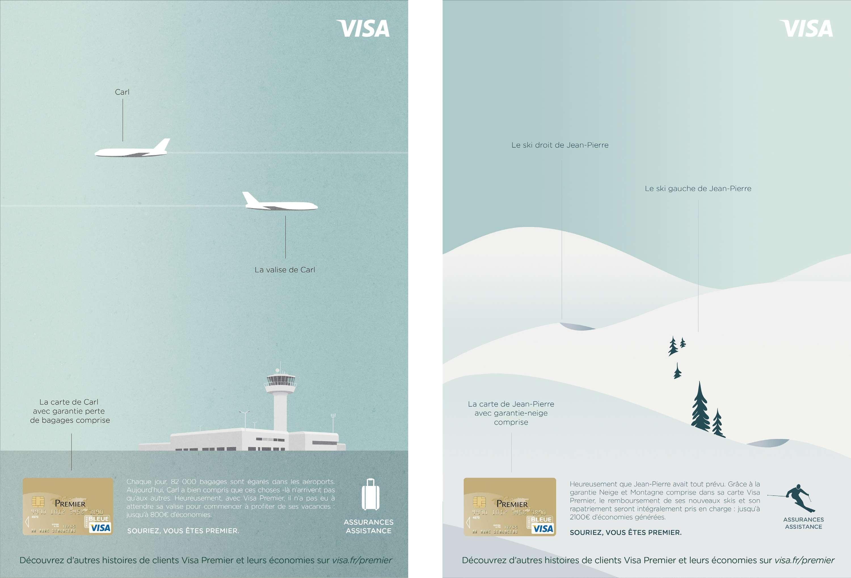 assistance carte visa premier VISA France | The Dots