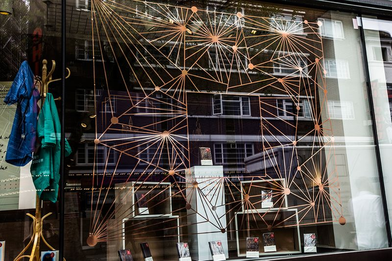 The Order of Time - Window Display