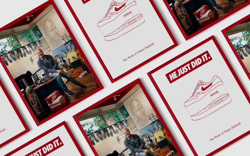 He Just Did It - The Work of Tinker Hatfield