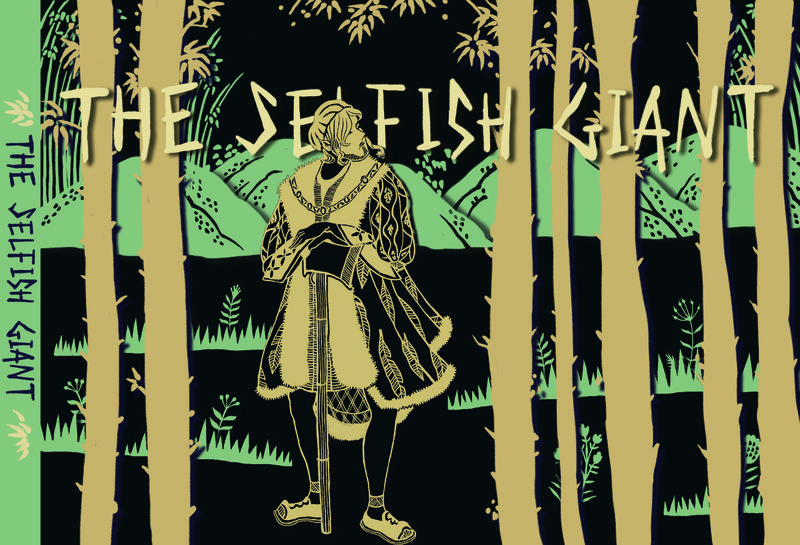 BOOK ILLUSTRATION - The Selfish Giant