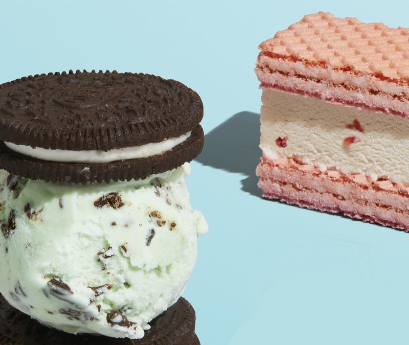 Ice cream biscuit combos: ShortList magazine