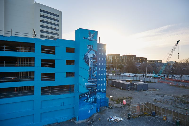 Video Campaign: Paint the town blue. Christchurch street art campaign post Earthquake