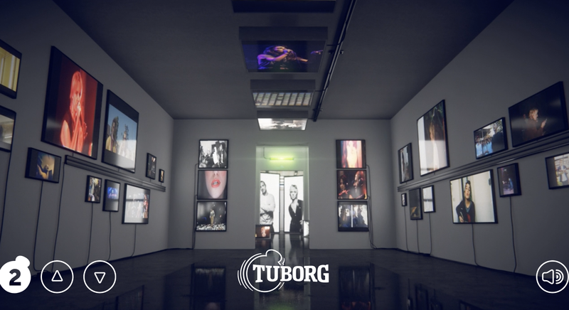 Latest 'Tuborg' interactive mobile experience