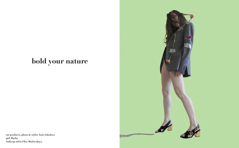 zine Bold Your Nature