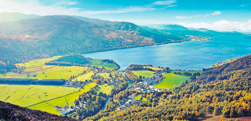 Peak Highlands in Loch Rannoch - The Sunday Times (Scotland)