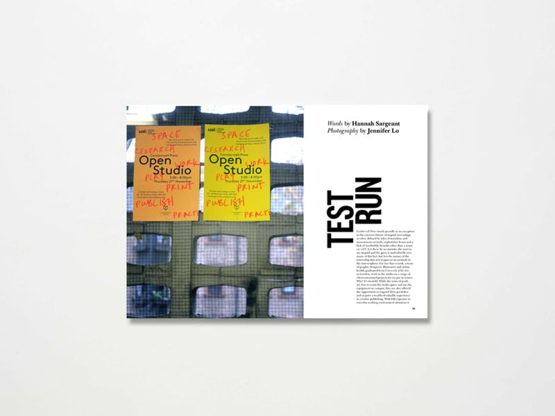 'Test Run' - Intern Magazine - Issue Three