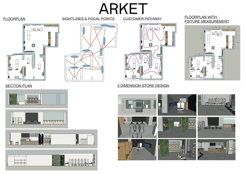 Arket Pop-Up Store Design