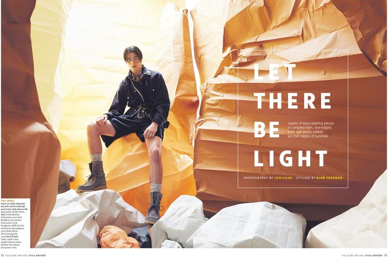 Globe Style Advisor SS18- Let There Be Light