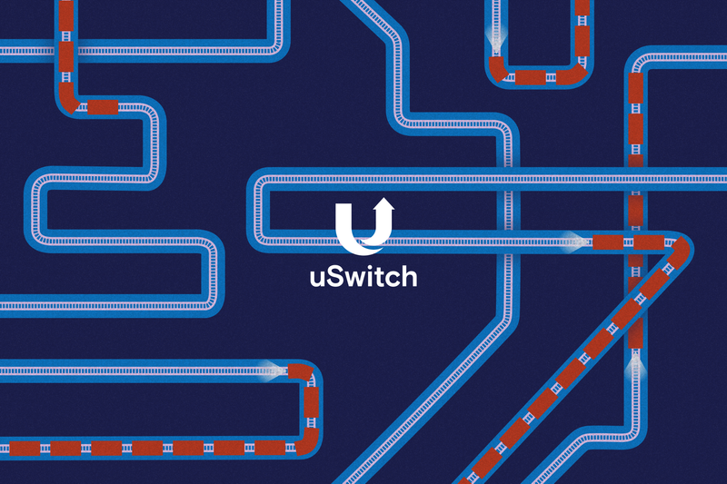 Mail Rail event branding: uSwitch Awards 2018
