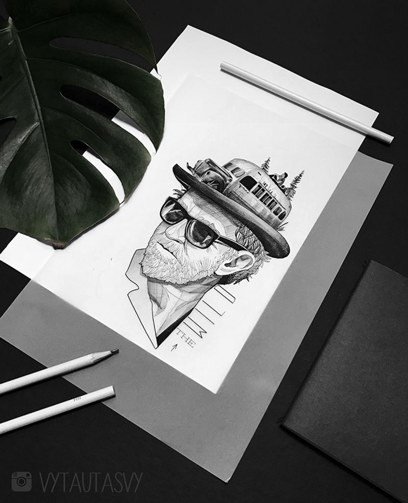 Interview With a Tattoo Artist Vytautas Vy