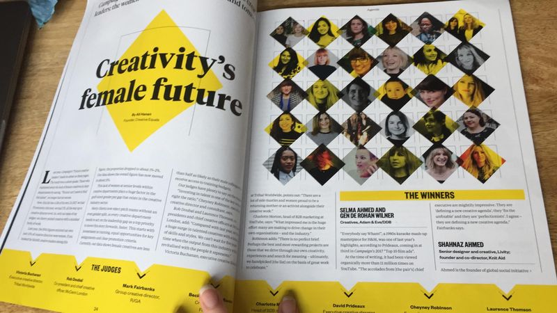 Campaign and Creative Equals present the future creative leaders; the women defining creativity today and tomorrow.