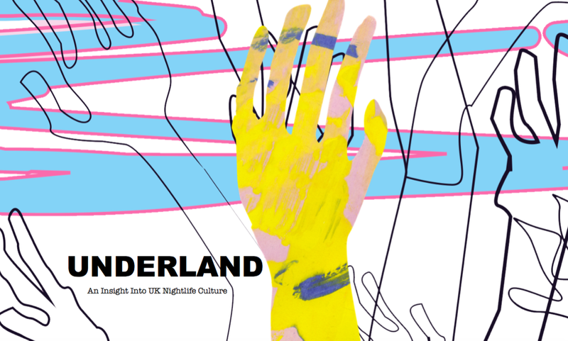 Underland Documentary Press Kit Design