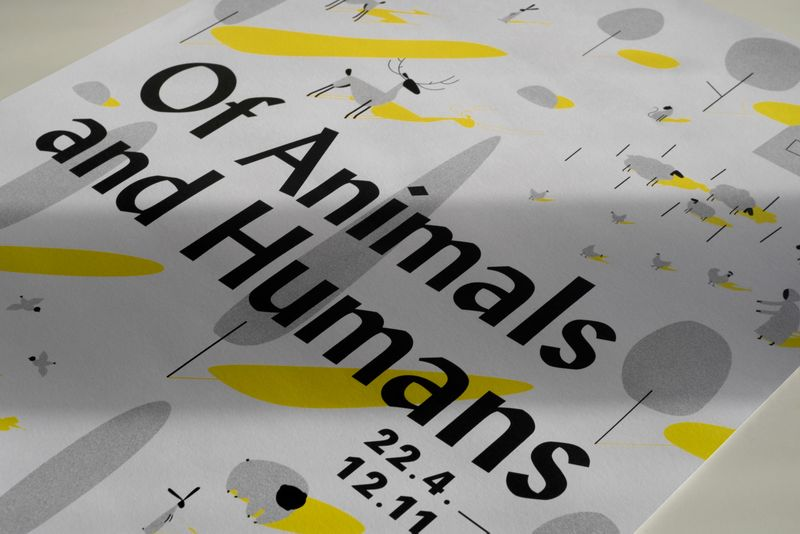 Of Animals and Humans — Exhibition Design