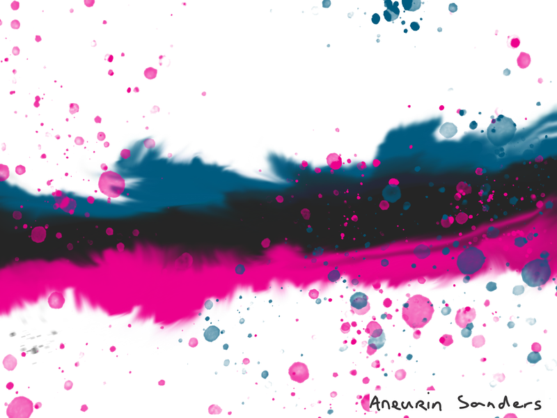 new abstract project pre vis in photoshop