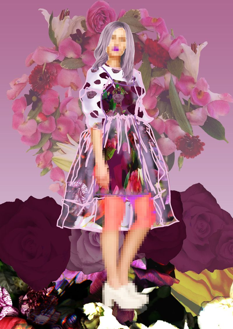 Fashion Illustration | Floral Fantasies