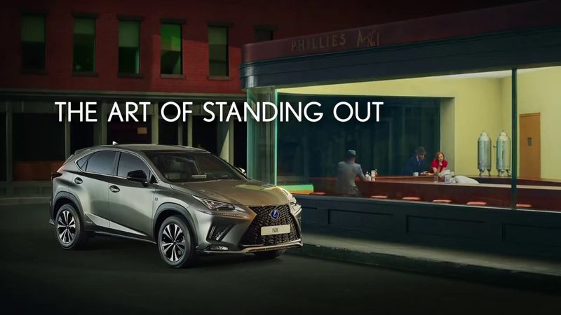 Lexus NX - 'The Art of Standing Out'