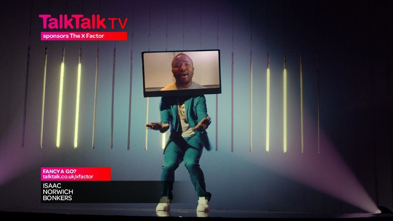 Talk Talk X Factor App