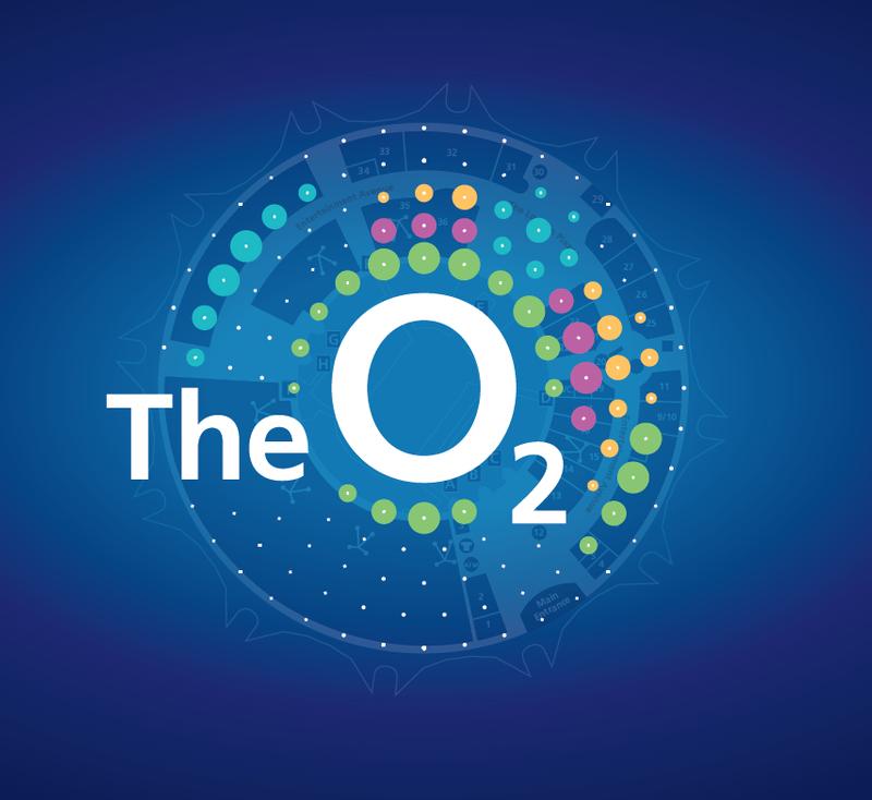 THE O2  (BRAND DESIGN, DIGITAL)