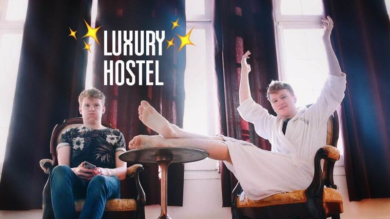 Hostelling with Luke Curforth