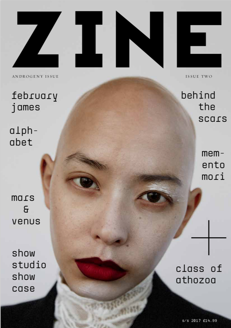 Zine, Issue Two - Androgeny Issue