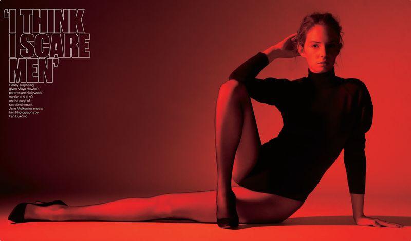 Telegraph Magazine x Maya Hawke x Pari Dukovic