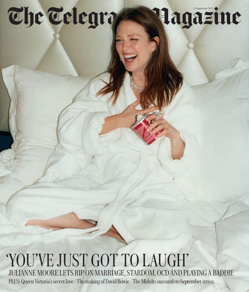 Telegraph Magazine x Julianne Moore x Jonas Unger