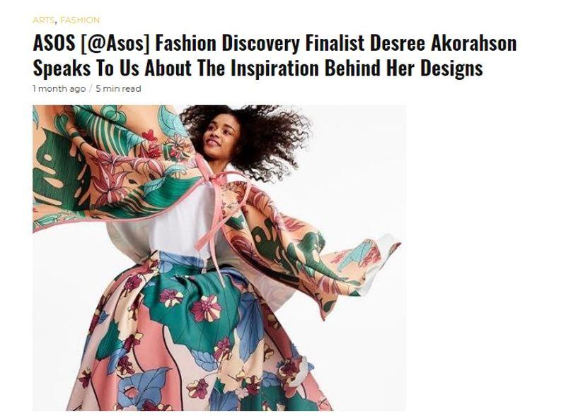 Guap Magazine Interview with Fashion Designer, Desree Akorahson