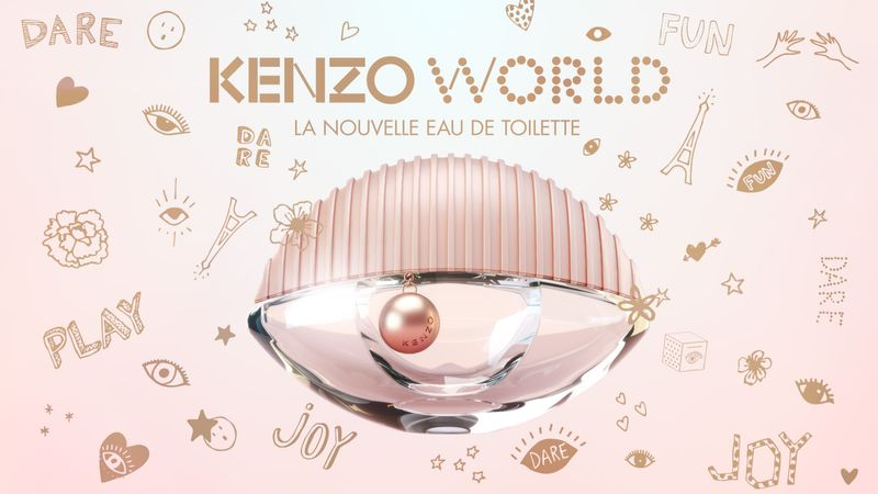 Kenzo World - The new eau de toilette - Social Media