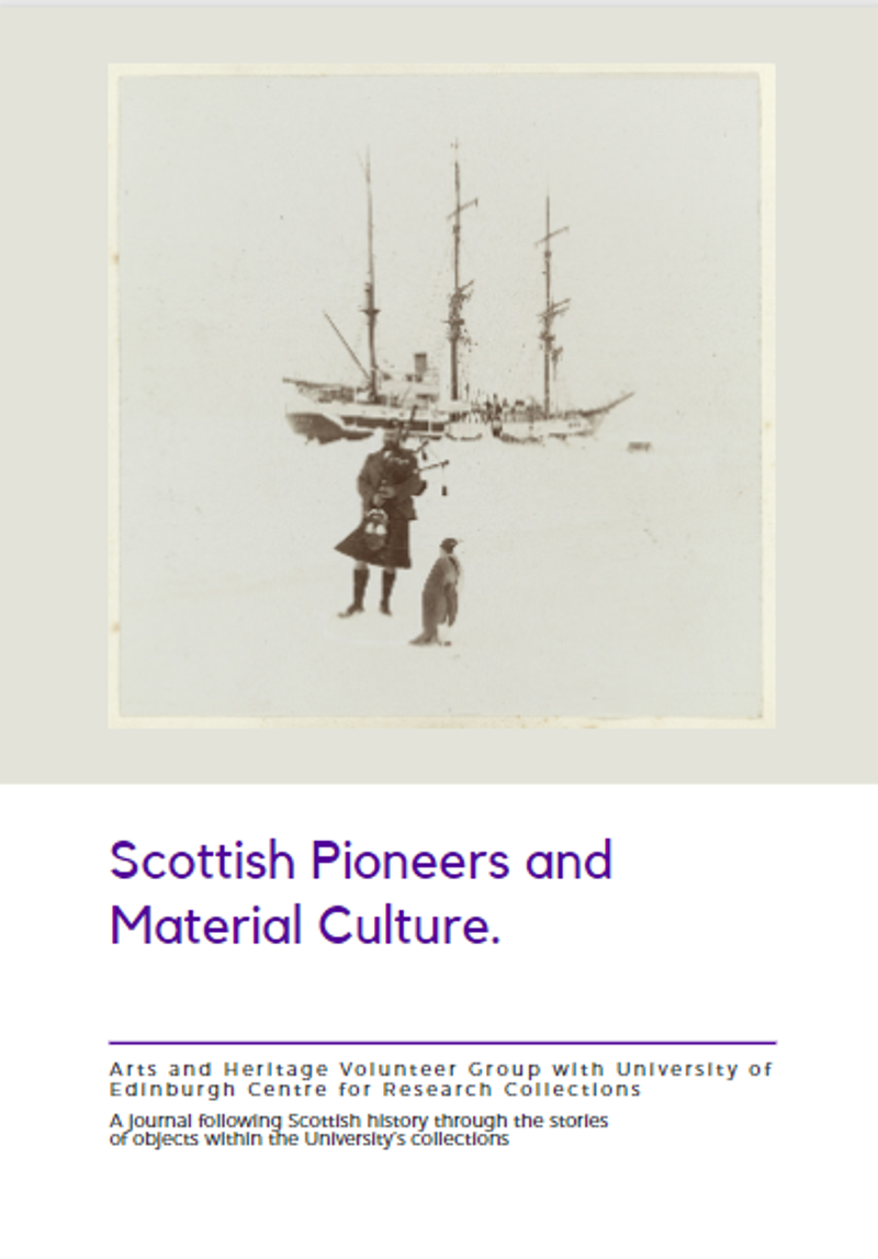 Scottish Pioneers and Material Culture