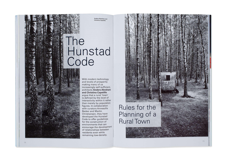 Architectural Design Magazine | Ad Architectural Design Magazine Art Direction The Dots