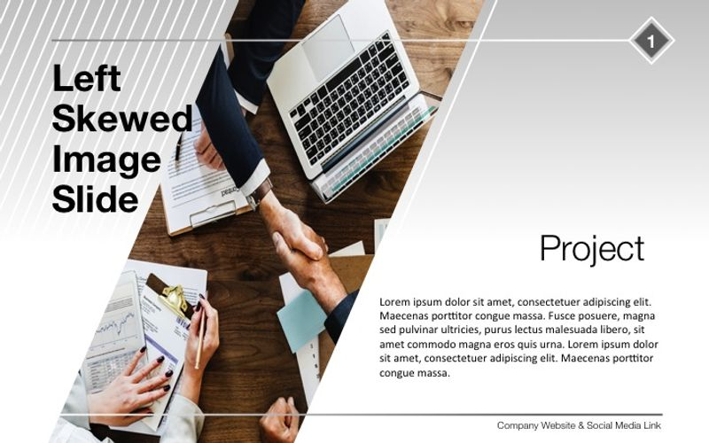 Corporate Presentation Design Samples