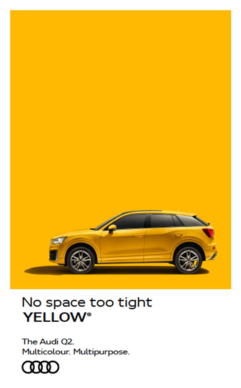 Audi Q2: Multicolour. Multipurpose.