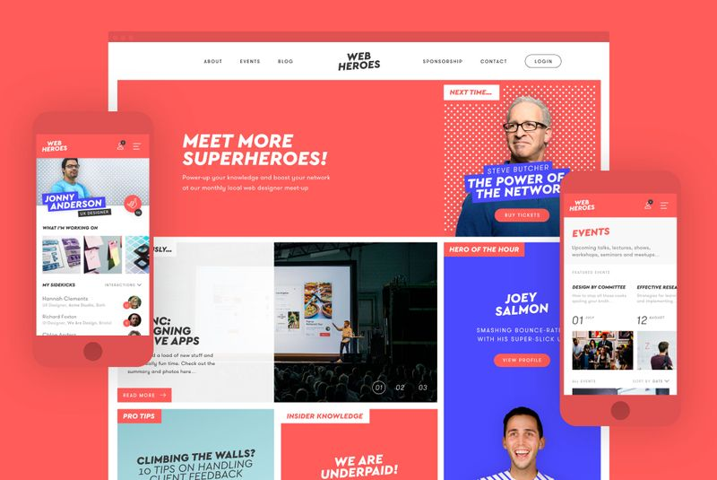 Web Heroes - Logo, Website Design and Mobile App