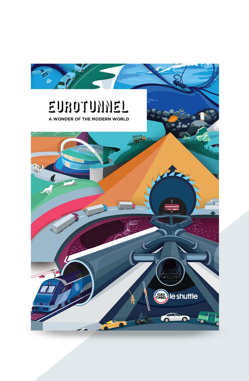 Eurotunnel Print Campaign