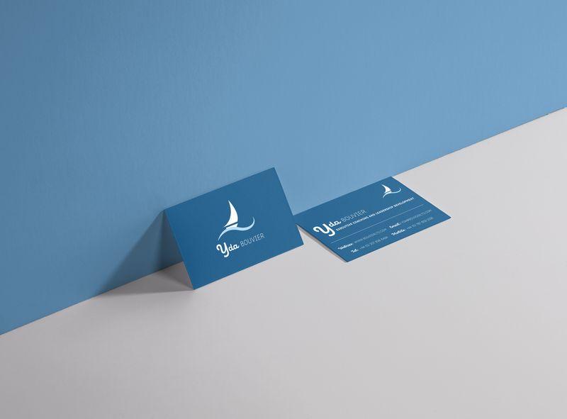 Yda Bouvier Brand & business card design.