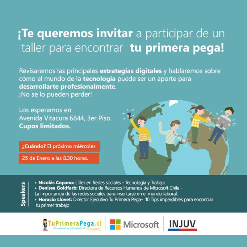 Microsoft Chile - Tu Primera Pega