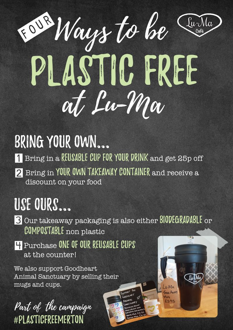 Plastic Free campaign poster