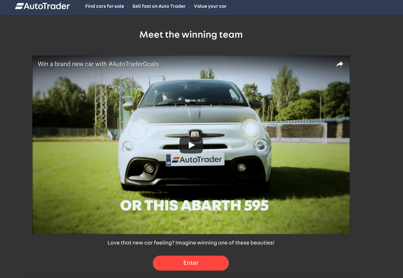Autotrader 2018 World Cup competition