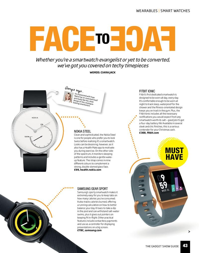 The Gadget Show Guide: Smartwatches