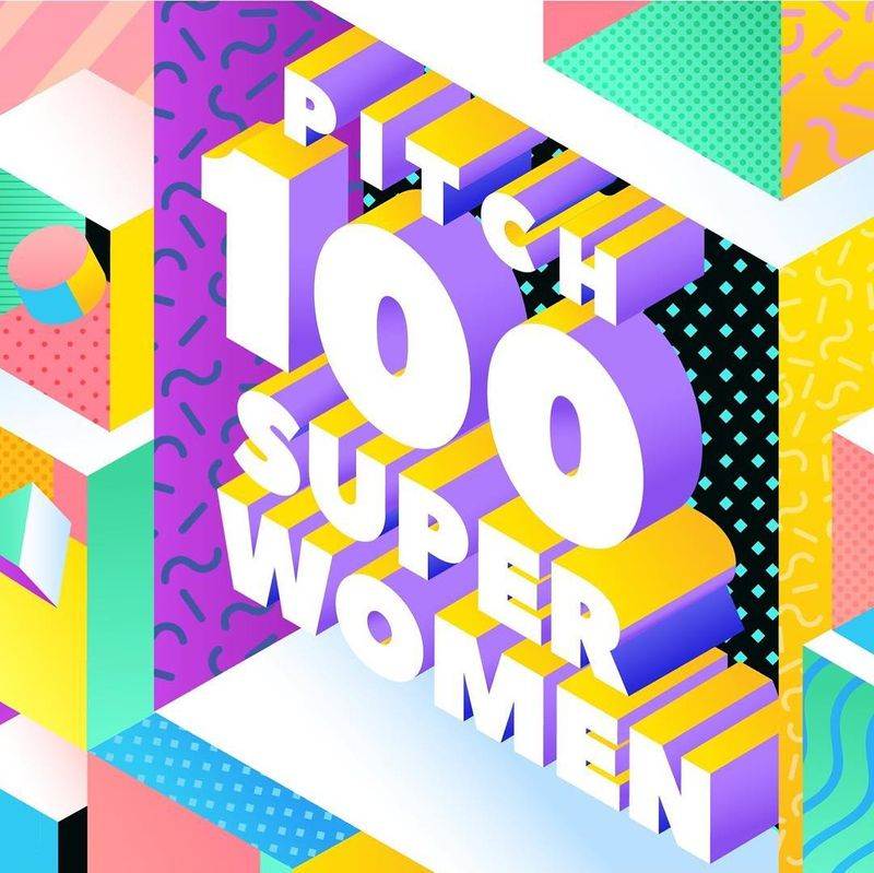 Pitch 100 Superwomen - 2018