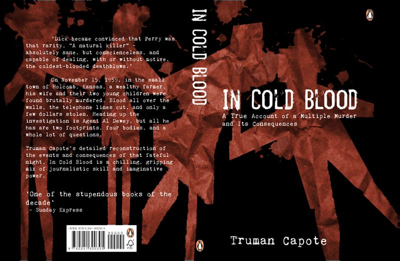 In Cold Blood - Truman Capote - Penguin Design Awards 2017