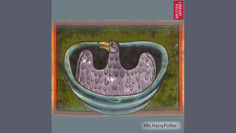 Harry Potter Exhibition / The British Library / Animated GIFs & Tube Ads