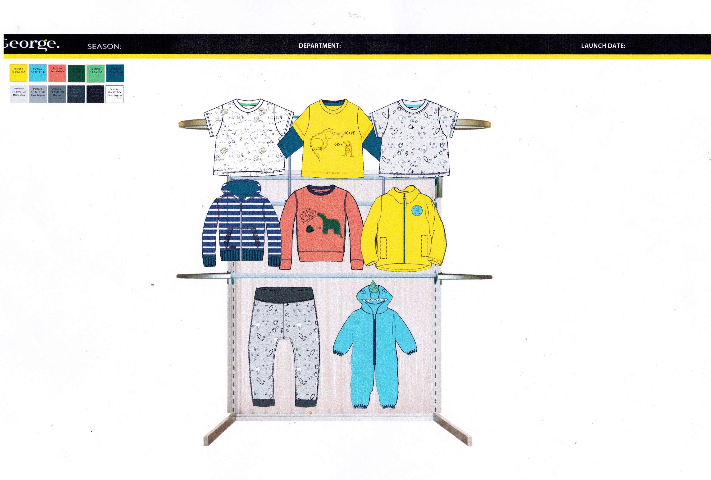 George Asda Kids Wear Placement The Dots Pantane