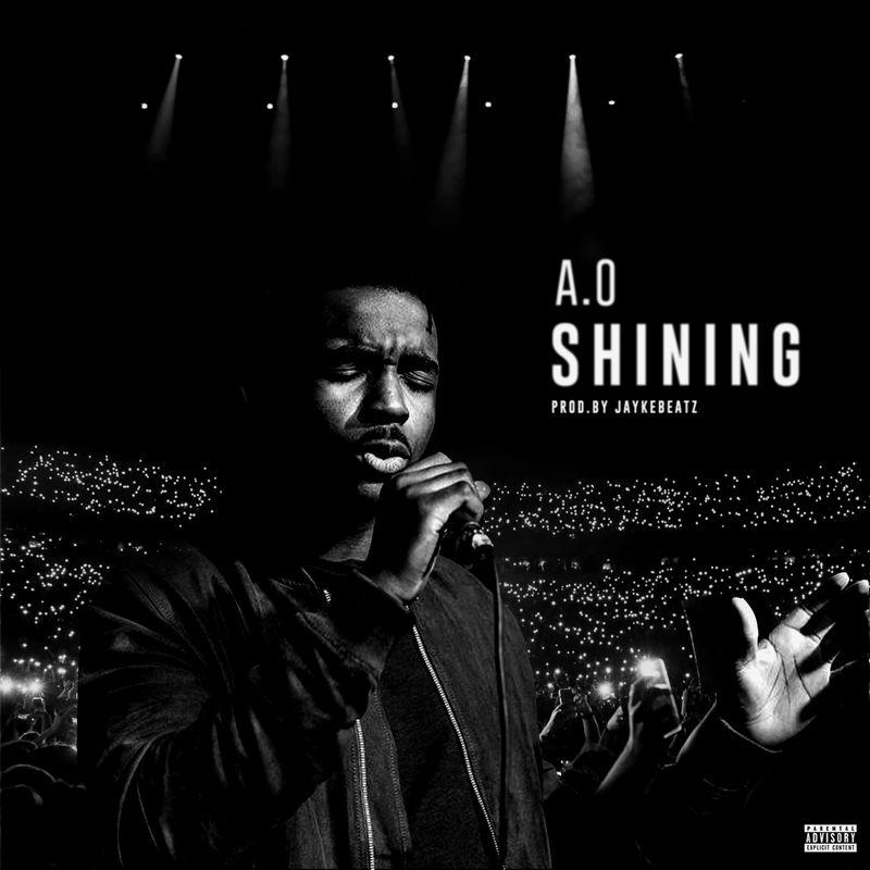 """""""A.O - Shining"""" artwork concept."""