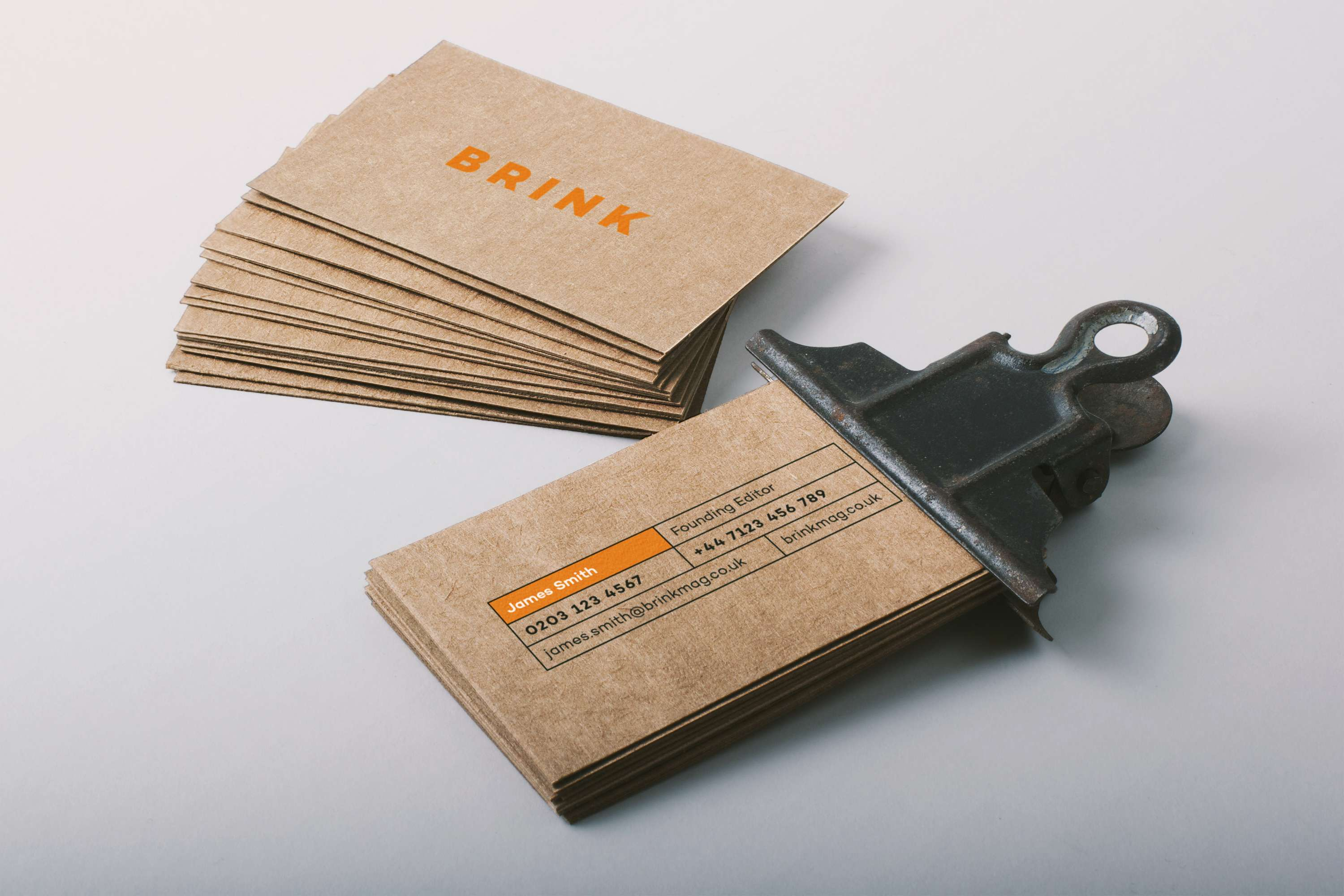 Brink magazine sustainable business cards the dots brink magazine sustainable business cards colourmoves