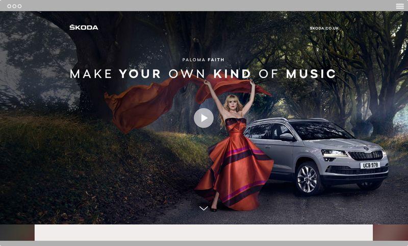 ŠKODA Paloma Faith - Make Your Own Kind Of Music