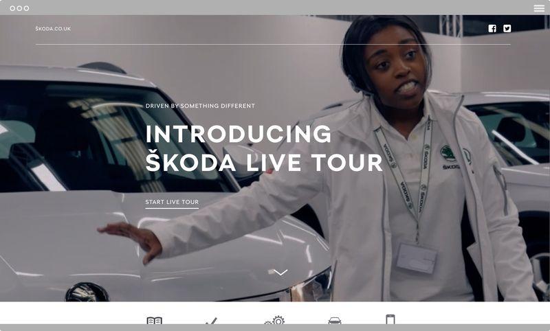 Introducing ŠKODA Live Tour