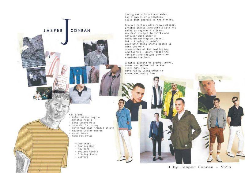 SS18 - Debenhams - Jasper Conran/Hammond & co